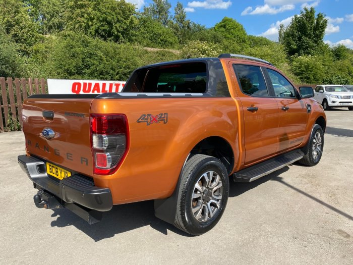 Ford Ranger Pick Up Double Cab Wildtrak 3.2 TDCi 200 Auto Pick Up Diesel Orange