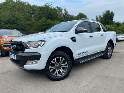 Ford Ranger 3.2 RANGER WILDTRAK 4X4 TDCI Pick Up Diesel WhiteFord Ranger 3.2 RANGER WILDTRAK 4X4 TDCI Pick Up Diesel White at Mark Duesbury Cars Chesterfield