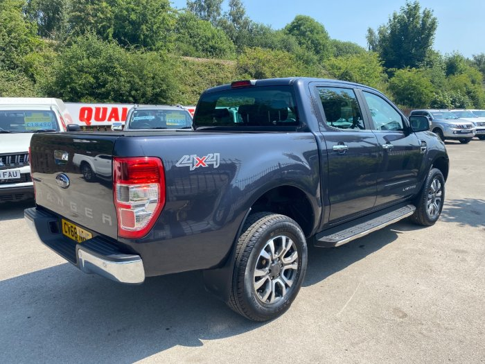 Ford Ranger Pick Up Double Cab Limited 2 2.2 TDCi Auto Pick Up Diesel Grey