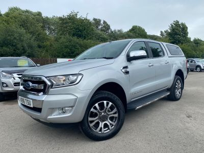 Ford Ranger Pick Up Double Cab Limited 2 2.2 TDCi Auto Pick Up Diesel SilverFord Ranger Pick Up Double Cab Limited 2 2.2 TDCi Auto Pick Up Diesel Silver at Mark Duesbury Cars Chesterfield