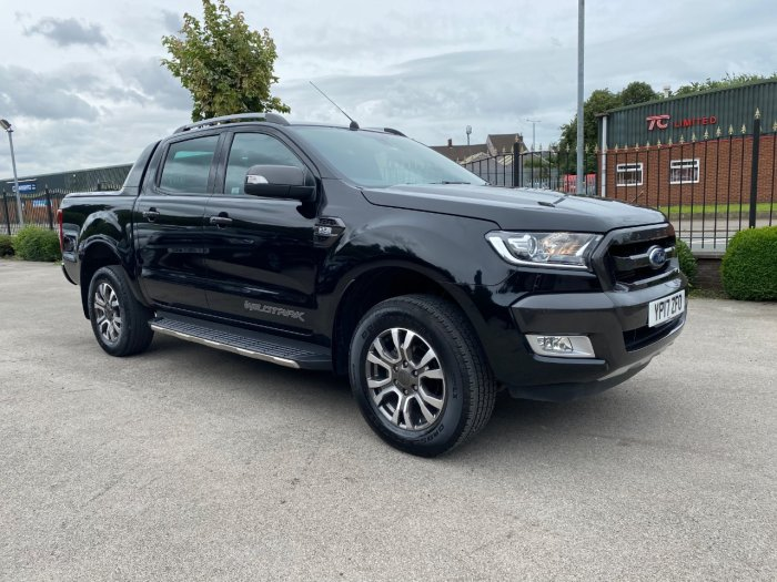 Ford Ranger 3.2 Ranger Wildtrak 4X4 TDCI Pick Up Diesel Black