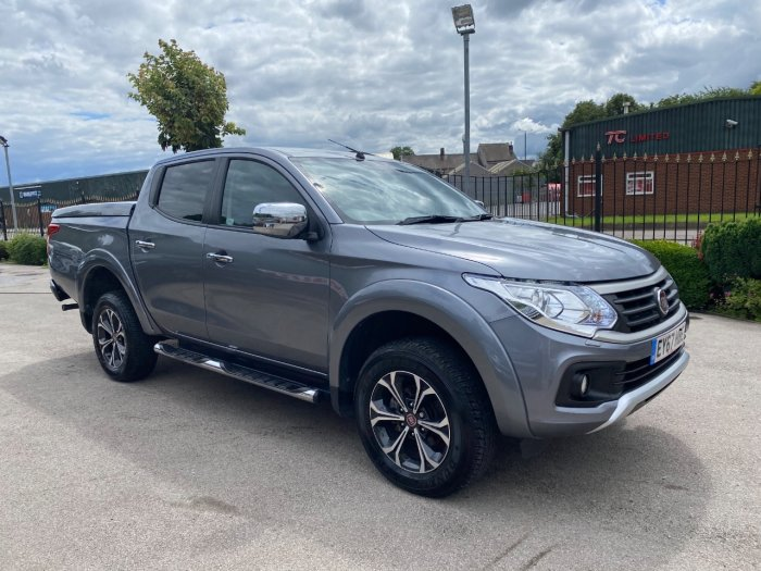 Fiat Fullback 2.4 180hp LX Double Cab Pick Up Auto Pick Up Diesel Grey