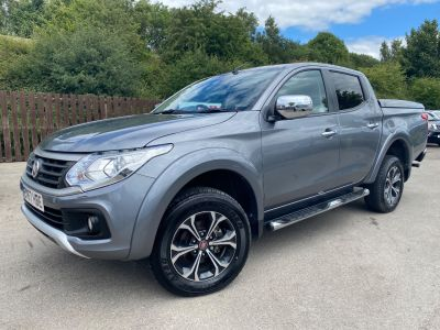 Fiat Fullback 2.4 180hp LX Double Cab Pick Up Auto Pick Up Diesel GreyFiat Fullback 2.4 180hp LX Double Cab Pick Up Auto Pick Up Diesel Grey at Mark Duesbury Cars Chesterfield
