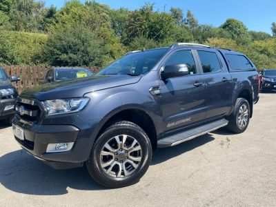 Ford Ranger 3.2 RANGER WILDTRAK 4X4 TDCI Pick Up Diesel GreyFord Ranger 3.2 RANGER WILDTRAK 4X4 TDCI Pick Up Diesel Grey at Mark Duesbury Cars Chesterfield