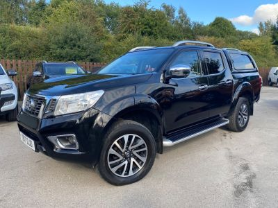 Nissan Navara Double Cab Pick Up Tekna 2.3dCi 190 4WD Pick Up Diesel BlackNissan Navara Double Cab Pick Up Tekna 2.3dCi 190 4WD Pick Up Diesel Black at Mark Duesbury Cars Chesterfield