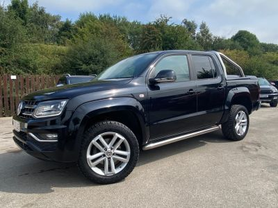 Volkswagen Amarok D/Cab Pick Up Highline 3.0 V6 TDI 224 BMT 4M Auto Pick Up Diesel BlackVolkswagen Amarok D/Cab Pick Up Highline 3.0 V6 TDI 224 BMT 4M Auto Pick Up Diesel Black at Mark Duesbury Cars Chesterfield