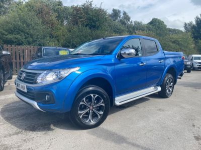 Fiat Fullback 2.4 180hp LX Double Cab Pick Up Auto Pick Up Diesel BlueFiat Fullback 2.4 180hp LX Double Cab Pick Up Auto Pick Up Diesel Blue at Mark Duesbury Cars Chesterfield