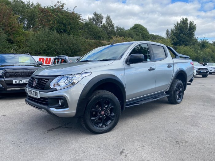 Fiat Fullback 2.4 180hp Cross Double Cab Pick Up Pick Up Diesel Grey
