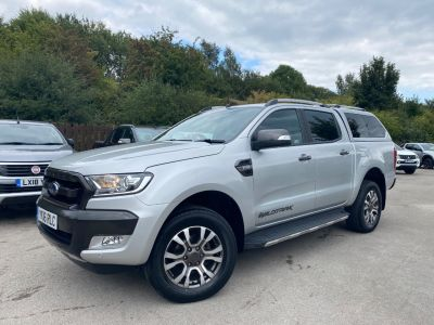 Ford Ranger Pick Up Double Cab Wildtrak 3.2 TDCi 200 Auto Pick Up Diesel SilverFord Ranger Pick Up Double Cab Wildtrak 3.2 TDCi 200 Auto Pick Up Diesel Silver at Mark Duesbury Cars Chesterfield