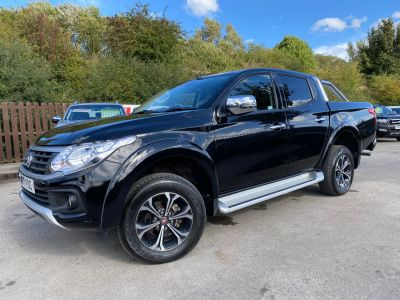 Fiat Fullback 2.4 180hp LX Double Cab Pick Up Auto Pick Up Diesel BlackFiat Fullback 2.4 180hp LX Double Cab Pick Up Auto Pick Up Diesel Black at Mark Duesbury Cars Chesterfield