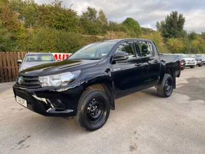 Toyota Hilux Active D/Cab Pick Up 2.4 D-4D Pick Up Diesel BlackToyota Hilux Active D/Cab Pick Up 2.4 D-4D Pick Up Diesel Black at Mark Duesbury Cars Chesterfield