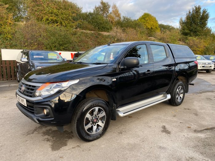 Fiat Fullback 2.4 150hp SX Double Cab Pick Up Pick Up Diesel Black