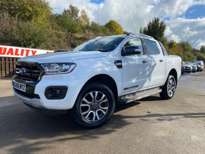 Ford Ranger Pick Up Double Cab Wildtrak 3.2 EcoBlue 200 Pick Up Diesel WhiteFord Ranger Pick Up Double Cab Wildtrak 3.2 EcoBlue 200 Pick Up Diesel White at Mark Duesbury Cars Chesterfield