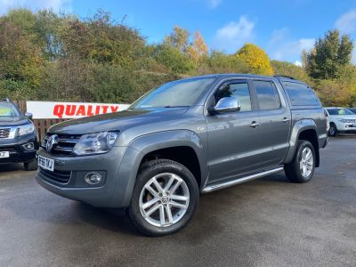 Volkswagen Amarok D/Cab Pick Up Highline 2.0 BiTDI 180 BMT 4MTN Auto Pick Up Diesel GreyVolkswagen Amarok D/Cab Pick Up Highline 2.0 BiTDI 180 BMT 4MTN Auto Pick Up Diesel Grey at Mark Duesbury Cars Chesterfield