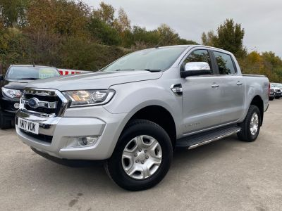 Ford Ranger 2.2 RANGER LIMITED 4X4 TDCI Pick Up Diesel SilverFord Ranger 2.2 RANGER LIMITED 4X4 TDCI Pick Up Diesel Silver at Mark Duesbury Cars Chesterfield