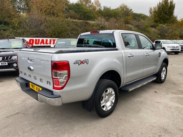 Ford Ranger 2.2 RANGER LIMITED 4X4 TDCI Pick Up Diesel Silver