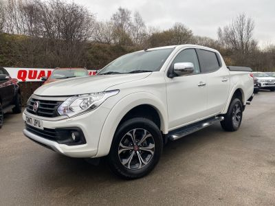 Fiat Fullback 2.4 180hp LX Double Cab Pick Up Pick Up Diesel WhiteFiat Fullback 2.4 180hp LX Double Cab Pick Up Pick Up Diesel White at Mark Duesbury Cars Chesterfield