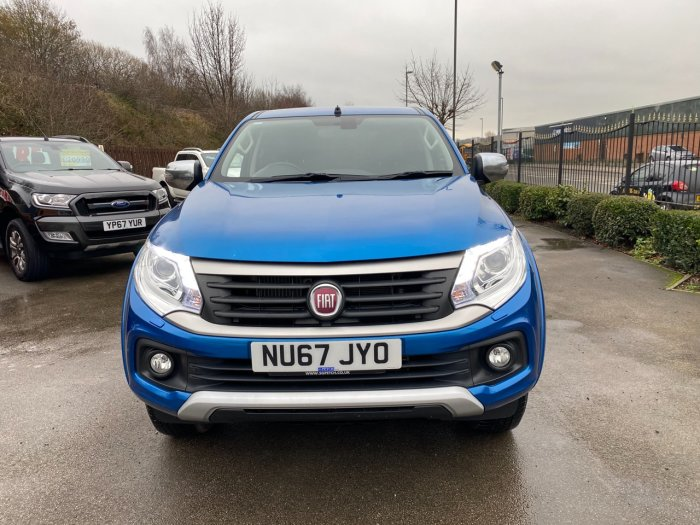 Fiat Fullback 2.4 180hp LX Double Cab Pick Up Auto Pick Up Diesel Blue