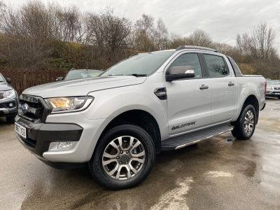 Ford Ranger Pick Up Double Cab Wildtrak 3.2 TDCi 200 Pick Up Diesel SilverFord Ranger Pick Up Double Cab Wildtrak 3.2 TDCi 200 Pick Up Diesel Silver at Mark Duesbury Cars Chesterfield