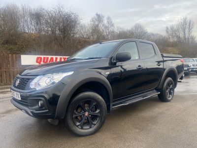 Fiat Fullback 2.4 180hp Cross Double Cab Pick Up Pick Up Diesel BlackFiat Fullback 2.4 180hp Cross Double Cab Pick Up Pick Up Diesel Black at Mark Duesbury Cars Chesterfield
