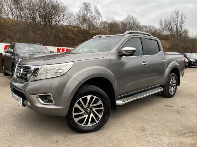 Nissan Navara Double Cab Pick Up Tekna 2.3dCi 190 4WD Pick Up Diesel GreyNissan Navara Double Cab Pick Up Tekna 2.3dCi 190 4WD Pick Up Diesel Grey at Mark Duesbury Cars Chesterfield