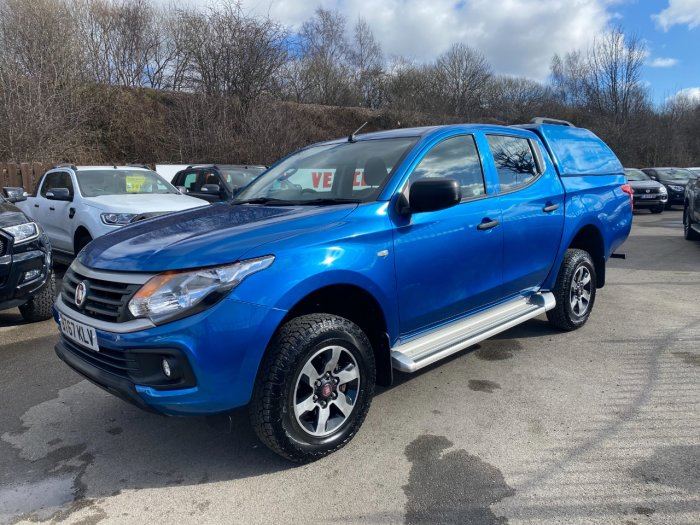 Fiat Fullback 2.4 150hp SX Double Cab Pick Up Pick Up Diesel Blue