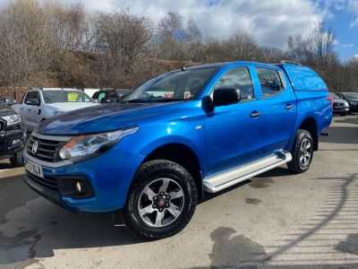 Fiat Fullback 2.4 150hp SX Double Cab Pick Up Pick Up Diesel BlueFiat Fullback 2.4 150hp SX Double Cab Pick Up Pick Up Diesel Blue at Mark Duesbury Cars Chesterfield