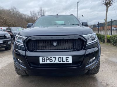 Ford Ranger Pick Up Double Cab Wildtrak 3.2 TDCi 200 Auto Pick Up Diesel GreyFord Ranger Pick Up Double Cab Wildtrak 3.2 TDCi 200 Auto Pick Up Diesel Grey at Mark Duesbury Cars Chesterfield