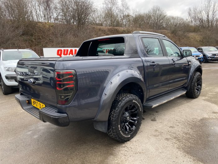 Ford Ranger Pick Up Double Cab Wildtrak 3.2 TDCi 200 Auto Pick Up Diesel Grey