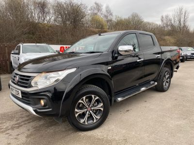 Fiat Fullback 2.4 180hp LX Double Cab Pick Up Pick Up Diesel BlackFiat Fullback 2.4 180hp LX Double Cab Pick Up Pick Up Diesel Black at Mark Duesbury Cars Chesterfield