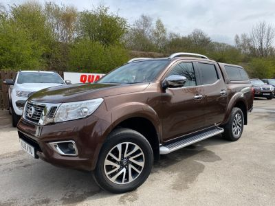 Nissan Navara Double Cab Pick Up Tekna 2.3dCi 190 4WD Auto Pick Up Diesel BronzeNissan Navara Double Cab Pick Up Tekna 2.3dCi 190 4WD Auto Pick Up Diesel Bronze at Mark Duesbury Cars Chesterfield