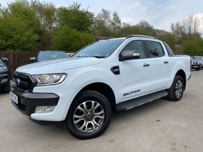 Ford Ranger Pick Up Double Cab Wildtrak 3.2 TDCi 200 Auto Pick Up Diesel WhiteFord Ranger Pick Up Double Cab Wildtrak 3.2 TDCi 200 Auto Pick Up Diesel White at Mark Duesbury Cars Chesterfield