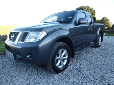 Nissan Navara King Cab Pick Up Acenta 2.5dCi 190 4WD Four Wheel Drive Diesel GreyNissan Navara King Cab Pick Up Acenta 2.5dCi 190 4WD Four Wheel Drive Diesel Grey at Mark Duesbury Cars Chesterfield