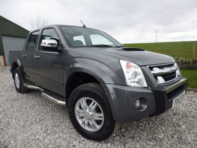 Isuzu Rodeo 3.0TD Denver Max Plus Double Cab 4x4 Four Wheel Drive Diesel GreyIsuzu Rodeo 3.0TD Denver Max Plus Double Cab 4x4 Four Wheel Drive Diesel Grey at Mark Duesbury Cars Chesterfield