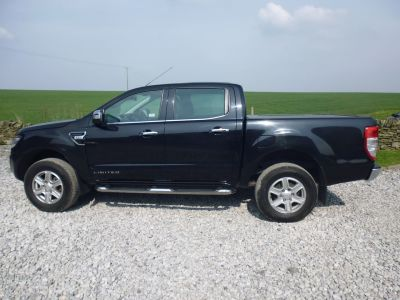 Ford Ranger Pick Up Double Cab Limited 2.2 TDCi 150 4WD Four Wheel Drive Diesel BlackFord Ranger Pick Up Double Cab Limited 2.2 TDCi 150 4WD Four Wheel Drive Diesel Black at Mark Duesbury Cars Chesterfield