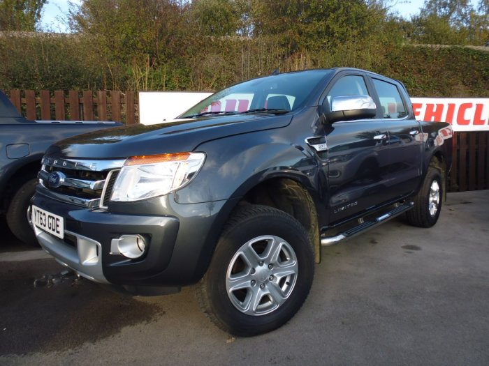 Ford Ranger Pick Up Double Cab Limited 2.2 TDCi 150 4WD Four Wheel Drive Diesel Grey
