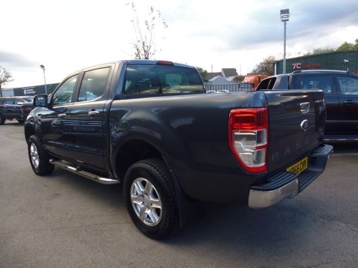 Ford Ranger Pick Up Double Cab Limited 2.2 TDCi 150 4WD Auto Four Wheel Drive Diesel Grey