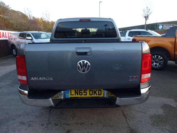 Volkswagen Amarok D/Cab Pick Up Highline 2.0 BiTDI 180 BMT 4MTN Auto Four Wheel Drive Diesel Grey