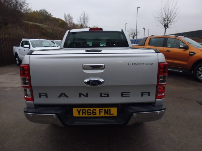 Ford Ranger Pick Up Double Cab Limited 2 2.2 TDCi Four Wheel Drive Diesel Silver