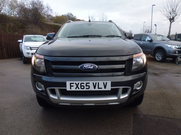 Ford Ranger Pick Up Double Cab Wildtrak 3.2 TDCi 4WD Four Wheel Drive Diesel Black