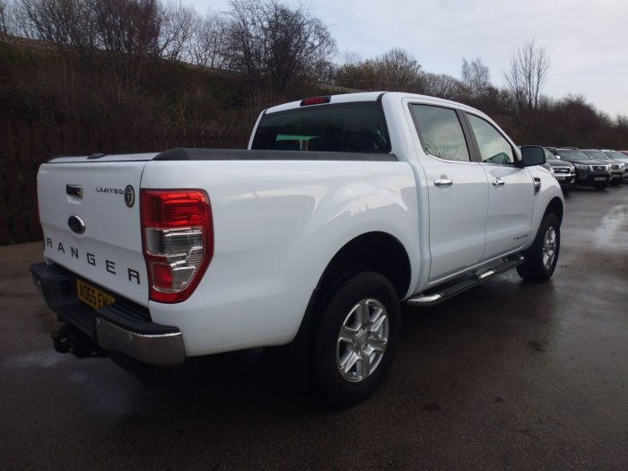 Ford Ranger Pick Up Double Cab Limited 2.2 TDCi 150 4WD Four Wheel Drive Diesel White