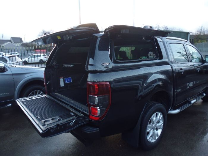 Ford Ranger Pick Up Double Cab Wildtrak 3.2 TDCi 4WD Auto Four Wheel Drive Diesel Black