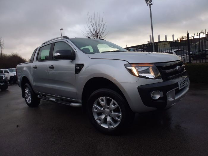 Ford Ranger Pick Up Double Cab Wildtrak 3.2 TDCi 4WD Auto Four Wheel Drive Diesel Silver