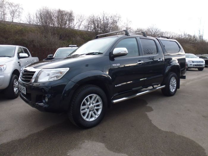 Toyota Hilux Invincible D/Cab Pick Up 3.0 D-4D 4WD 171 Four Wheel Drive Diesel Grey