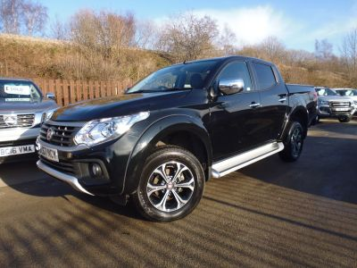 Fiat Fullback 2.4 180hp LX Double Cab Pick Up Four Wheel Drive Diesel BlackFiat Fullback 2.4 180hp LX Double Cab Pick Up Four Wheel Drive Diesel Black at Mark Duesbury Cars Chesterfield