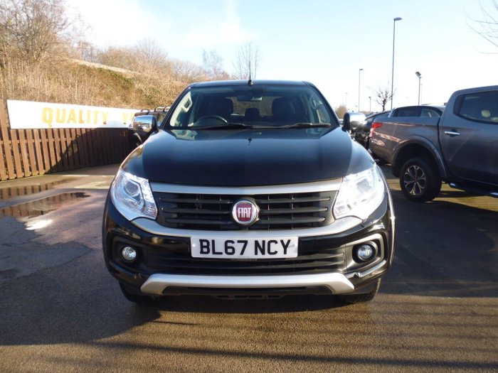 Fiat Fullback 2.4 180hp LX Double Cab Pick Up Four Wheel Drive Diesel Black