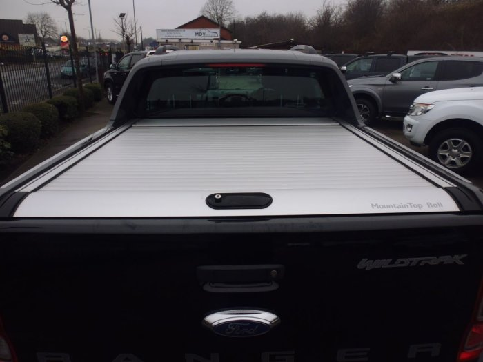 Ford Ranger 3.2 RANGER WILDTRAK 4X4 TDCI Four Wheel Drive Diesel Black