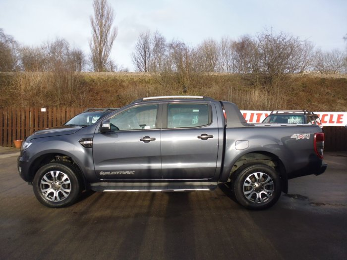 Ford Ranger 3.2 RANGER WILDTRAK 4X4 TDCI Four Wheel Drive Diesel Grey