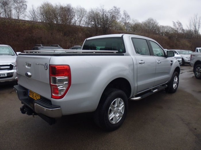Ford Ranger Pick Up Double Cab Limited 3.2 TDCi 4WD Four Wheel Drive Diesel Silver