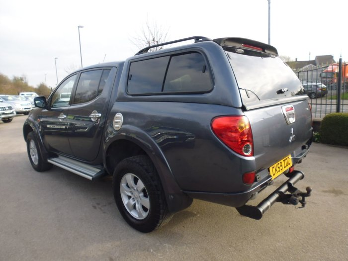 Mitsubishi L200 2.5 L200 ANIMAL DI-D D/C A Four Wheel Drive Diesel Grey